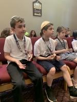 Hebrew School Graduation 2019